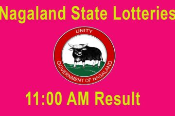 Nagaland State Lottery 11:00 AM Result LIVE