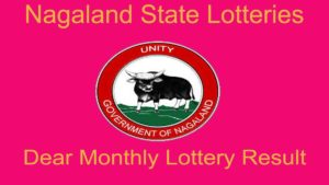 Nagaland State Dear 100 Monthly Lottery Result 15.10.2020 (4.30 PM)