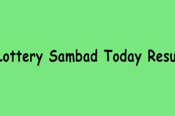 Lottery Sambad Result Today