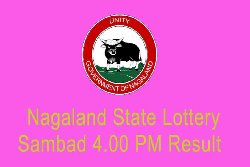 Nagaland State Lottery Sambad 4.00 PM result
