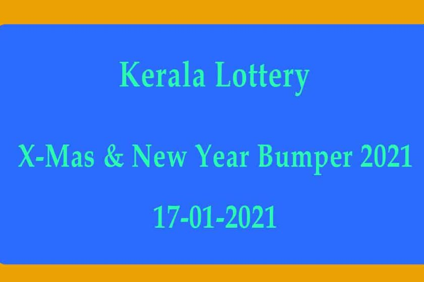 Kerala New Year Bumper Result